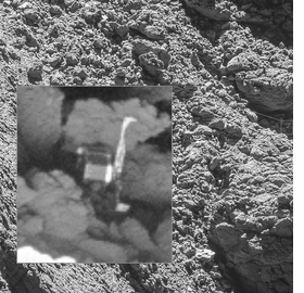 Featured image is reproduced from 'OSIRIS: The Eyes of Rosetta.'
