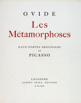 Ovid: The Metamorphoses