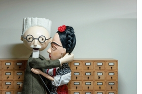 Featured image, depicting Léon Trotsky and Frida Kahlo, is reproduced from <I>Pedro Reyes: The Permanent Revolution</I>.