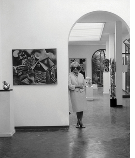 Featured image is reproduced from 'Peggy Guggenheim: The Last Dogaressa.'