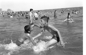 Featured image is reproduced from 'Peter Kayafas: Coney Island Waterdance'.