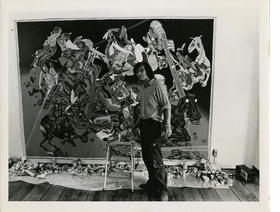 Featured image is reproduced from 'Peter Saul: Professional Artist Correspondence, 1945–1976.'