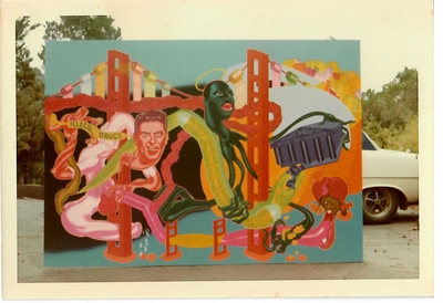 'Peter Saul: Professional Artist Correspondence, 1945–1976' is NEW from Bad Dimensions Press!