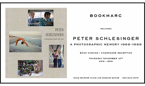 Peter Schlesinger Book Launch at BOOKMARC Los Angeles