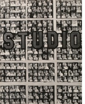 """""""Penny Picture Display, Savannah,"""" (1936) by Walker Evans is reproduced from <I>Photography at MoMA: 1920 to 1960</I>."""