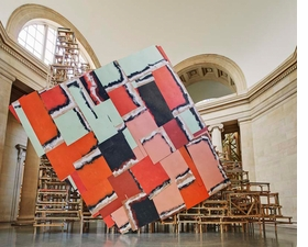 Phyllida Barlow, <I>dock</I> Duveen Commission, Tate Britain, London, 2014. Courtesy the artist and Hauser & Wirth © Phyllida Barlow. Photo: Alex Delfanne