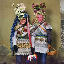 Featured image is reproduced from 'Phyllis Galembo: Mexico Masks Rituals.'