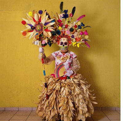 Day of the Dead inspiration in Phyllis Galembo's 'Mexico Masks Rituals'
