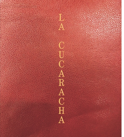 Pieter Hugo signing 'La Cucaracha' at Dashwood Books