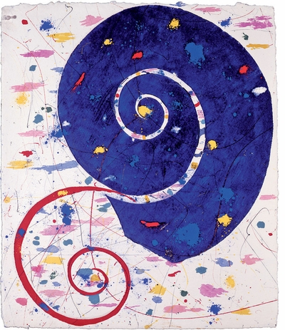 Poetry, prose, observations and dreams in 'Cobalt Blue: Writings from the Papers of Sam Francis'