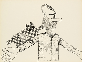 Featured image is reproduced from 'Poor Richard by Philip Guston.'