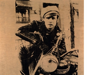 """""""Marlon""""(1966), by Andy Warhol, is reproduced from <I>Pop Art Myths</I>."""