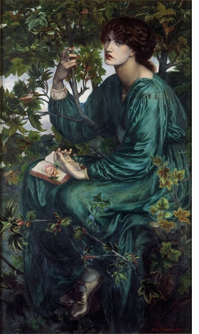 Featured image is reproduced from 'Pre-Raphaelite Sisters Notecards.'