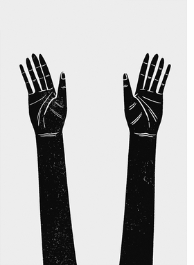 """Wong Chi Lui's """"Raised hands"""" (2017) is reproduced from 'Protest.'"""