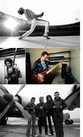 Featured images are reproduced from 'Queen: The Neal Preston Photographs.'