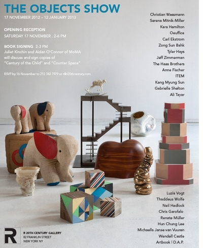 R 20th Century Gallery Launches Holiday Objects Show with MoMA Book Signings and ARTBOOK Pop-Up Bookstore