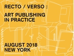 Recto / Verso: Art Publishing in Practice