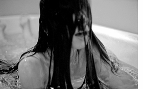 """""""Submerged in a bathtub full of water, I hold my breath until I can't stand it any long. I raise my head and gasp for breath, then I go back down, over and over again.""""<p>Featured image is reproduced from <a href=""""9788836619924.html"""">Regina José Galindo</a>."""