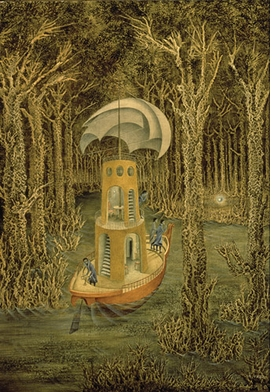 Featured image is reproduced from <I>Remedios Varo: The Mexican Years</I>.