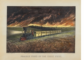 Featured image is reproduced from 'Revisiting America: The Prints of Currier & Ives.'