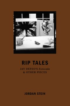 Rip Tales: Jay DeFeo's Estocada and Other Pieces
