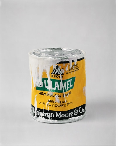 Robert Gober: Untitled (1994) (drip-covered paint can)