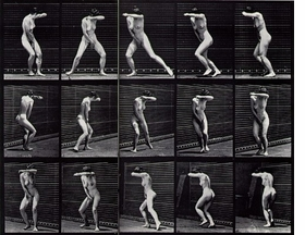 """Featured image, Edward Muybridge's <i>Turning Around in Suprise and Running Away</i>, 1887, is reproduced from <a href=""""http://www.artbook.com/9788836620005.html"""">Rodin and America</a>."""