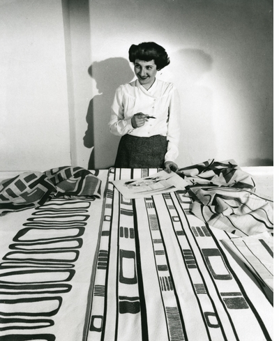 Ruth Adler Schnee's exuberant textiles and interiors shine in 'Modern Designs for Living'