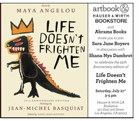 """Sara Jane Boyers & Shana Nys Dambrot on """"Life Doesn't Frighten Me"""" at Artbook at Hauser & Wirth Los Angeles"""