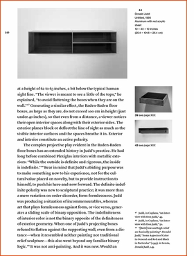 Featured image is reproduced from 'Sensuous Thoughts: Essays on the Work of Donald Judd.'
