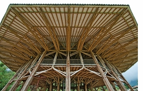 Featured image is reproduced from <I>Simón Vélez: Architect Mastering Bamboo</I>.