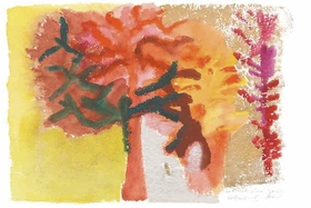 Featured image is reproduced from 'Simone Fattal: Watercolours.'