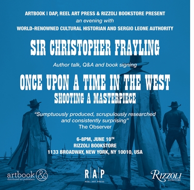 Sir Christopher Frayling speaking and signing 'Once Upon a Time in the West' at Rizzoli