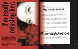Featured spread is reproduced from 'SKULLFUCK.'