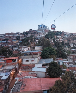 """Featured image, the view of Hornos de Cal station in Caracas, Venezuela, is reproduced from<a href=""""9780870707841.html"""">Small Scale, Big Change: New Architectures of Social Engagement</a>."""