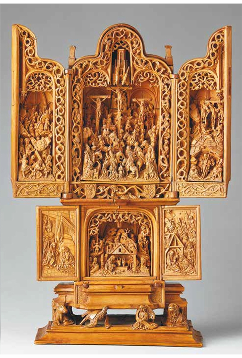 Small Wonders: Late Gothic Boxwood Microcarvings from the Low Countries