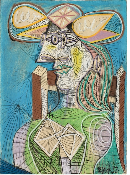 Some much-needed inspiration in the pure creativity of Picasso's work on and with paper