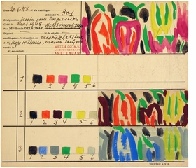 Featured image is reproduced from 'Sonia Delaunay: Art, Design and Fashion.'