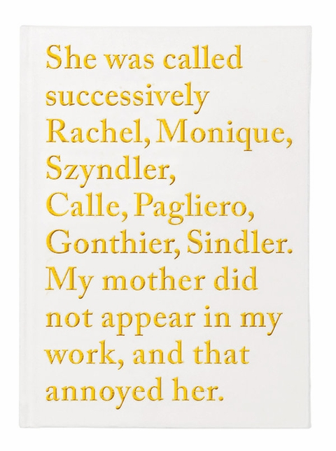 Sophie Calle in the News!