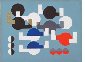 Featured image is reproduced from 'Sophie Taeuber-Arp: Living Abstraction.'