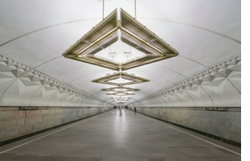Featured image is reproduced from 'Soviet Metro Stations.'