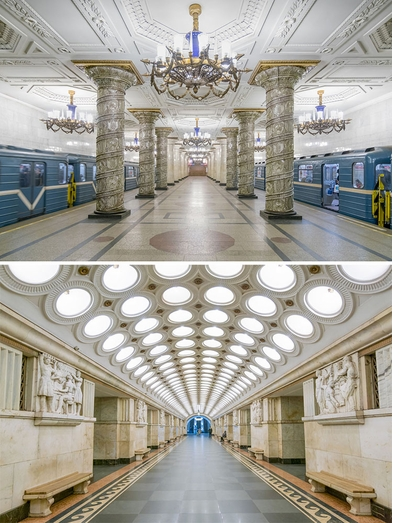 'Soviet Metro Stations' is NEW from Fuel Publishing!