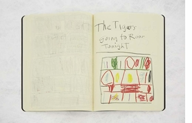 Featured image is a spread from 'Stanley Whitney: Sketchbook.'