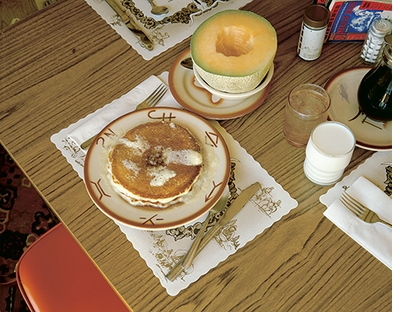 Stephen Shore: Uncommon Places, The Complete Works, Pancake Breakfast