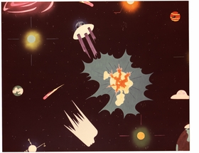 Featured image is reproduced from <I>Sun Ra & Ayé Aton: Space, Interiors and Exteriors 1972</I>.
