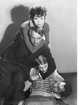Featured photograph, by Man Ray, of Marie-Berthe Aurenche, Max Ernst, Lee Miller and Man Ray in Paris, 1929, is reproduced from 'Surreal Lovers.'
