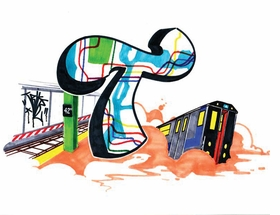 "Featured image, by Trike, is captioned ""T is for Transit, the Ones and the Twos."""