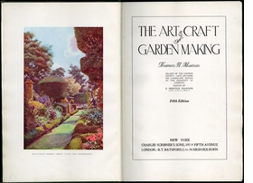 Featured image is reproduced from 'The Art and Craft of Garden Making'.