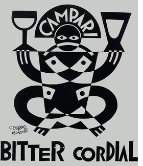 Featured image is reproduced from 'The Art of Campari.'