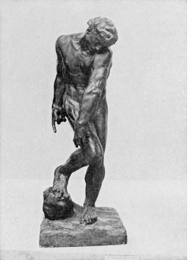 Featured image is reproduced from 'The Art of Rodin.'